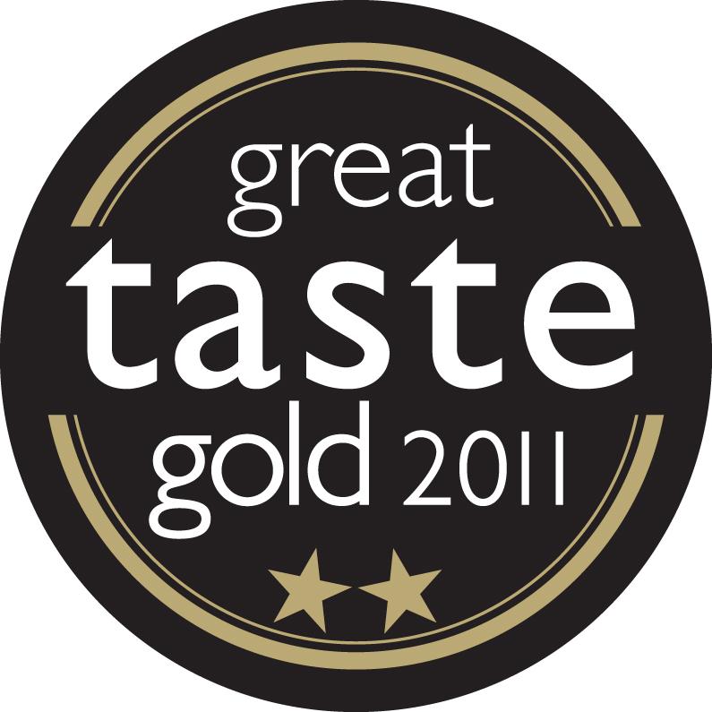 Great Taste Awards Logo 2 gold stars 2011