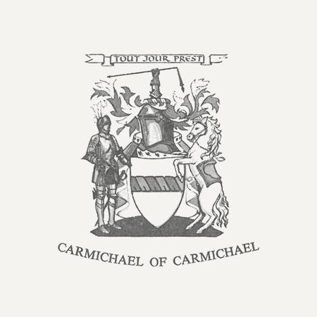 Pink Clan Carmichael Crest Baseball Cap